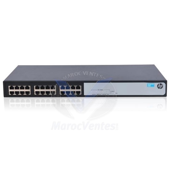 HP HPE 1420 24G  Switch [24 ports 10/100/1000 , L2 Unmanaged] JG708B