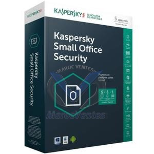 Kaspersky Small Office Security 5.0 1 server + 10 postes KL4533XBKFS-MAG