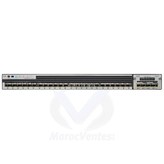 Catalyst 3750X 24 Port GE SFP IP Base WS-C3750X-24S-S