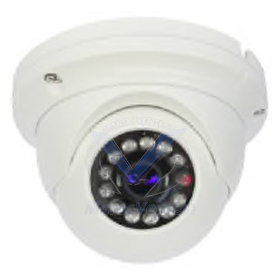 Camera IP Dome 2MP ANTIVANDALE Infrarouge D2014