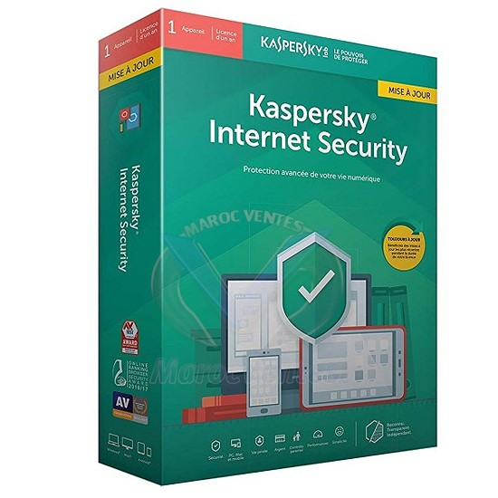 Internet Security 2019 1 Poste / 1 An Multi-Devices KL1939FBAFS-9MAG