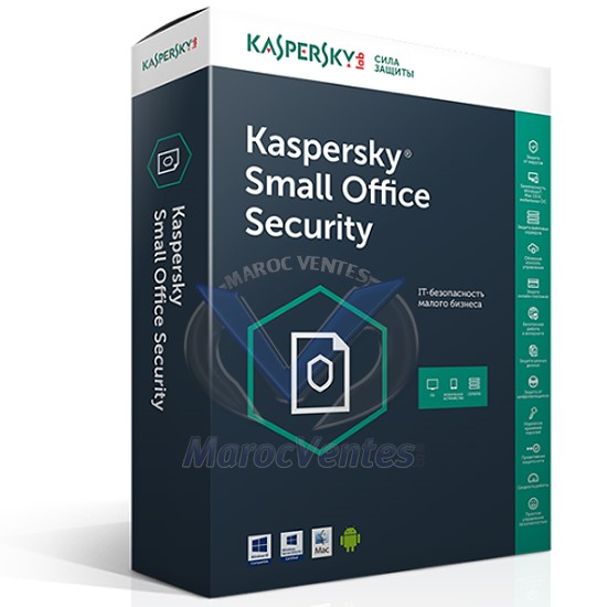 Small Office Security 6.0  - 2 Servers + 20 Postes KL4535XBNFS-9MWCA
