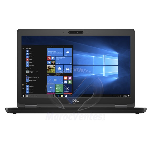PC Portable Latitude 5590 i7-8650U 15,6 16GO 512GO Win 10 N036L559015EMEA-W