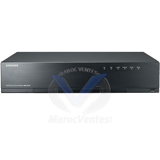 NVR 16 Canaux 8MPx 16 PoE/PoE+ 1 To SRN-1673S-1TB