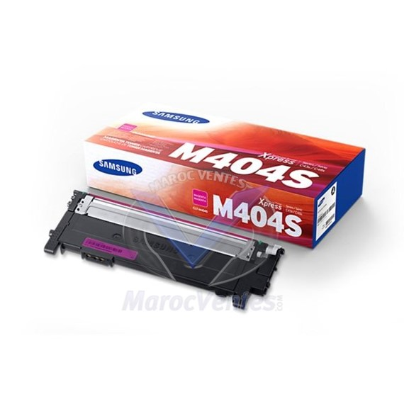Cartouches toner CLT-M404S laser magenta 1 000 pages SU246A