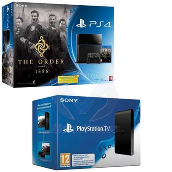 Playstation PS4 + Jeux  the order + Playstation TV PS4